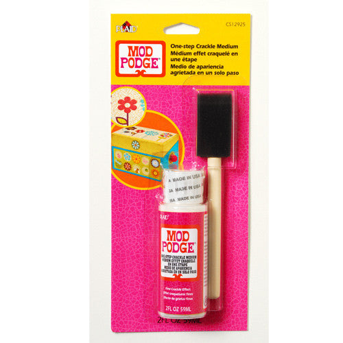 Mod Podge One-Step Crackle
