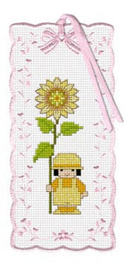 Kid With Sunflower Bookmark Kit