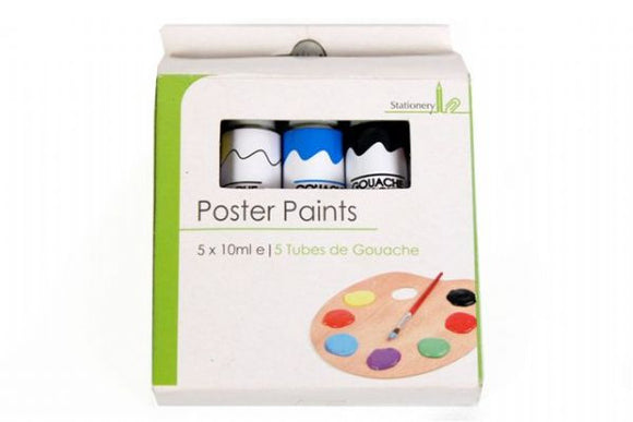 Poster Paints 10ml x 5