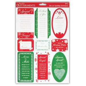 Do Crafts A4 Die-Cut Sparkling Sentiments x 9 – Special Christmas