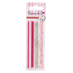 Papermania Mini clear stamp  - Cupcake Trims