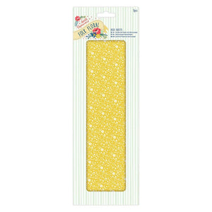 Papermania Deco Sheets (3pcs) - Folk Floral - Yellow Floral