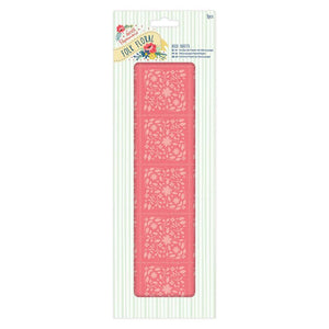 Papermania Folk Floral - Deco Sheets (3pcs) - Coral Folk