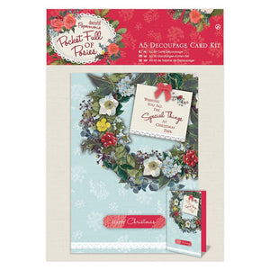 Decoupage Card Kit - Pocket Full of Posies A5