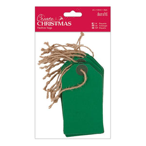 Docrafts Create Christmas - Festive Tags