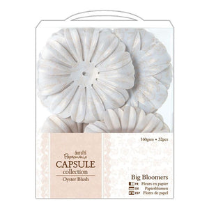 Papermania Big Bloomers (32pcs) - Capsule Collection - Oyster Blush