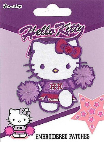 Iron-on / Sew-on Motifs - Hello Kitty Cheerleader