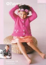 Babies and Toddlers Cardigans Knitting Pattern - Patons 3161