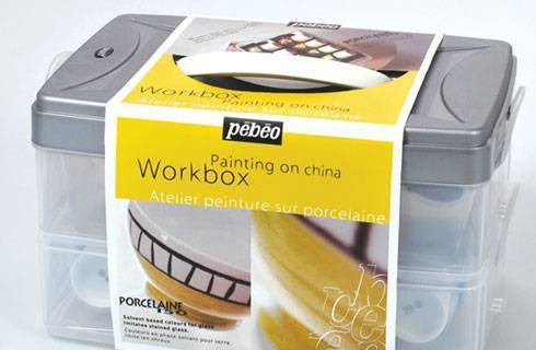 Pebeo Ceramic Workbox