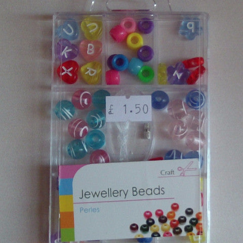 Jewellery Beads - Multi Letters
