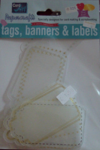Translucent Tags by Card Art