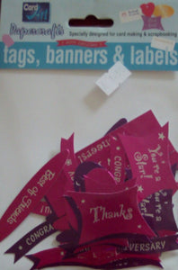 Banners and Labels by Card Art