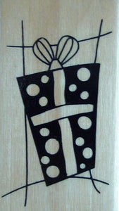 Gift Wood Mounted Rubber Stamp by Anita's