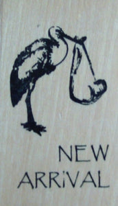 New Arrival Wood Mounted Rubber Stamp by Anita's