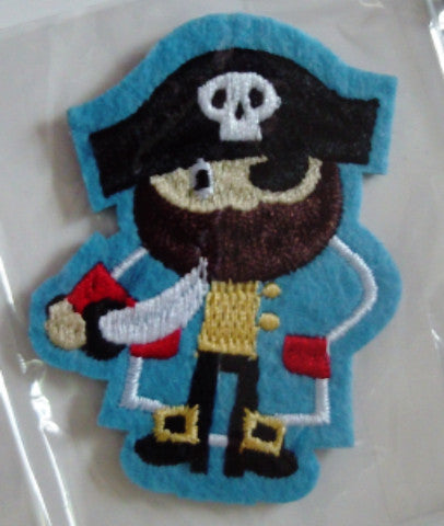 Stick on / Sew-on Motif - Pirate
