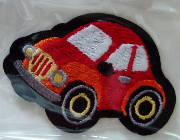Stick on / Sew-on Motif - Car