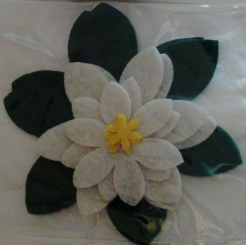 Stick on / Sew-on Motif - Flower