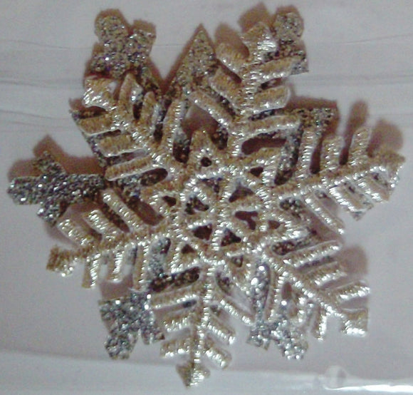 Iron on / Sew-on Motif - Snowflake