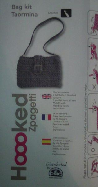 Hoooked Taormina Handbag Kit