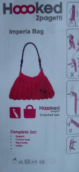 Hoooked Imperia Handbag Kit