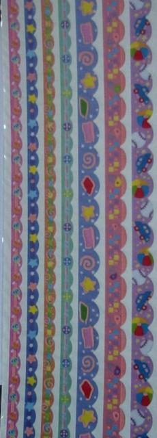 Border Baby Foam Ribbon Stickers by Papermania