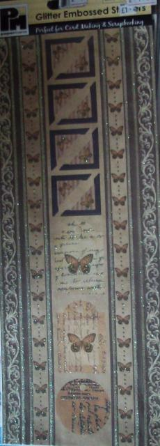 Vintage Butterfly Borders and Corners by Papermania