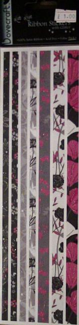 A Hint of Pink Ribbon Stickers by Kato Knight for Dovecraft