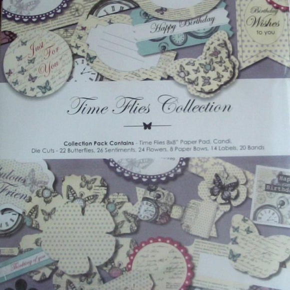 Time Flies Collection by Craftwork Cards