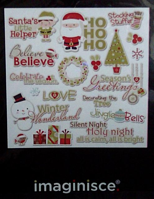 Christmas Die Cuts by Imaginisce