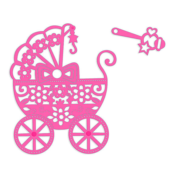 Die - Pram and Rattle by Sweet Dixie