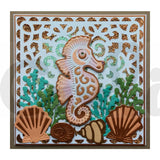 Stylish Seahorse Die by Sweet Dixie