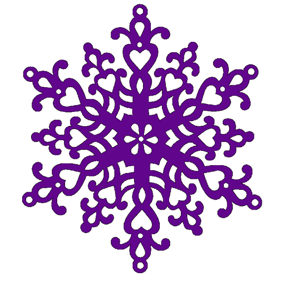 Large Snowflake Die by Sweet Dixie