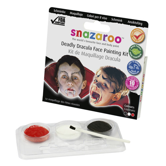 Snazaroo Deadly Dracula Face Painting Kit