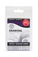 Daler Rowney Simply Drawing Artist Trading Cards x 20