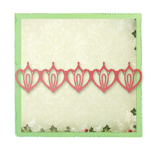 Sugarplum Border Universal Impression Die by Ultimate Crafts