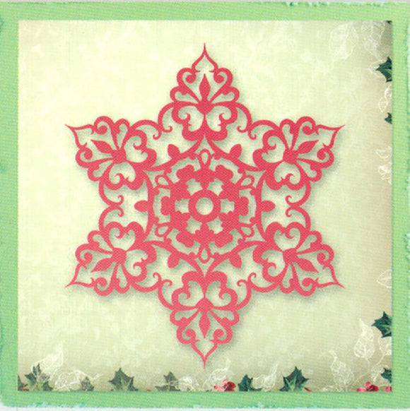 Snow Crystal Universal Impression Die by Ultimate Crafts