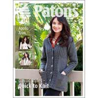 Patons Apollo Aran Ladies Fashion Leaflet