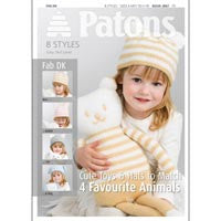 Patons Cute Toys & Hats to Match