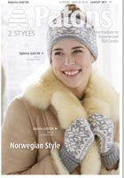 Norwegian Style Knitting Pattern - Patons  3871