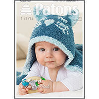 Patons Cat Blanket and Toys in Fairytale Cloud Pattern