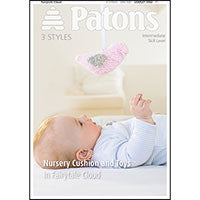 Patons Nursery Cushion and Toys in Fairy Tale Cloud