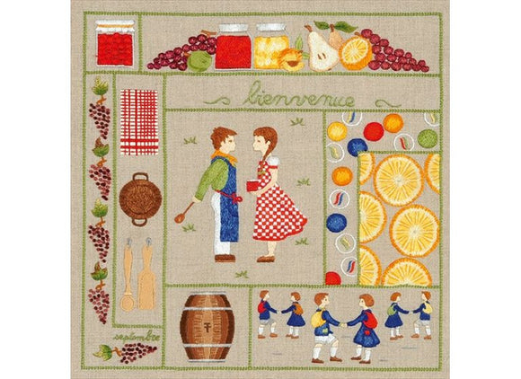 Royal Paris by Anchor Freestyle Embroidery Kit - September