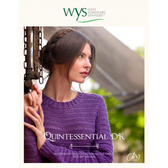 Qunitessential DK Knitting Pattern Book - West Yorkshire Spinners