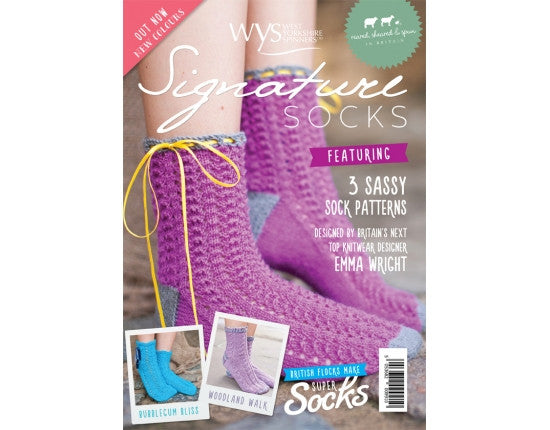 Signature Socks Leaflet - West Yorkshire Spinners