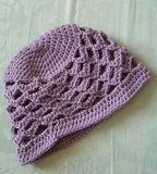 Waves Crochet Beanie Hat / Fingerless Mitts - Exclusive to Crafts by Design