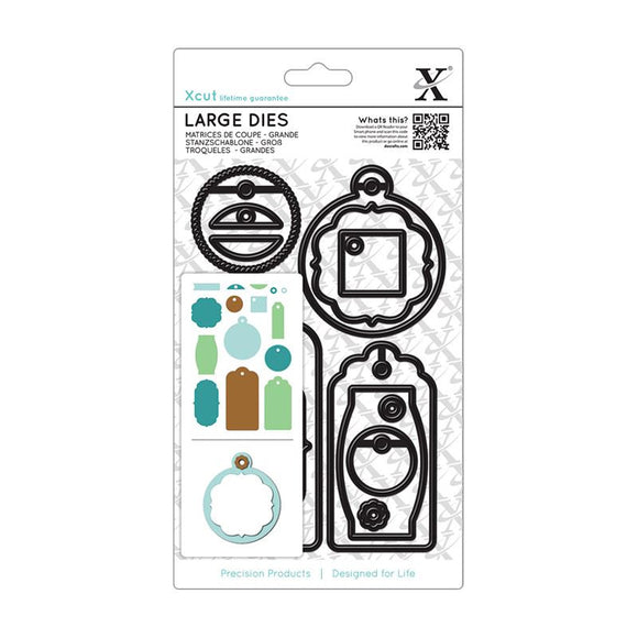Xcut Large Dies (15pcs) - Gift Tag Set Everyday