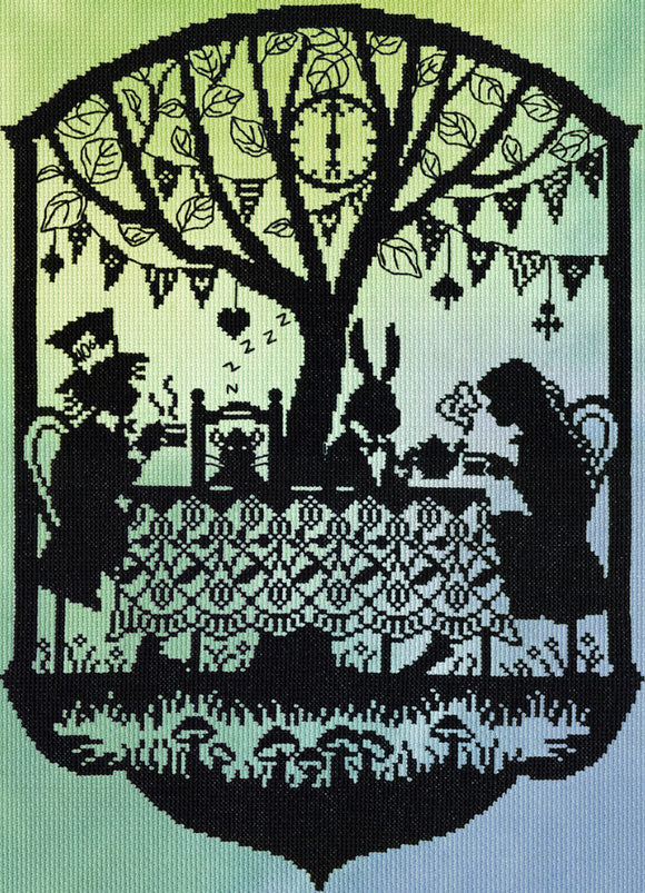 Bothy Threads - Mad Hatter's Tea Party Cross Stitch Kit