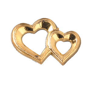 Miniature Embellishment - Double Heart