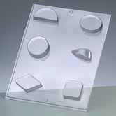 Casting Mould - Small Geometric Forms