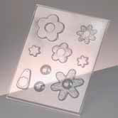 Casting Mould - Jewellery (Flowers)